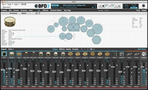 FXpansion BFD 3.0 Upgrade Virtual Acoustic Drum Software [BOXED VERSION] BFD-3.0-UPGRADE-BOX