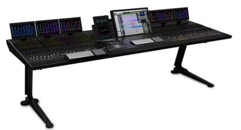 Avid 9935-65509-00 [EDUCATIONAL PRICING] S6 M40 with 32 Faders, 9 Knobs & 4 Display Modules for Educational Institutions 9935-65509-00-EDU