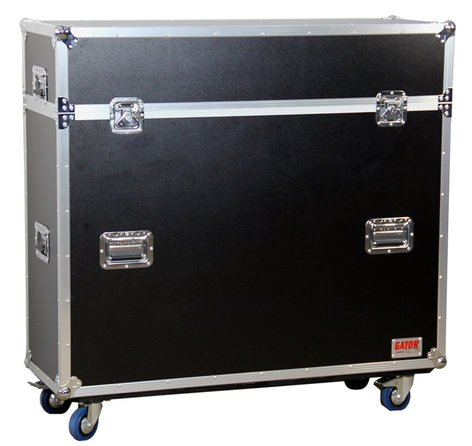 """Gator Cases G-TOUR-ELIFT-42  ATA Flight Case for LCD & Plasma Screen Up To 42"""" with Electric Lift and Casters G-TOUR-ELIFT-42"""