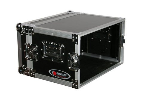 Odyssey FZER6  6-Space Deluxe ATA Effects Rack FZER6