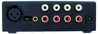 Rolls MX51s Mini Mix 2 4-Channel Mixer with XLR Micrphone Input and 3x RCA Inputs MX51S