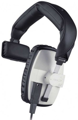 Beyerdynamic DT 102 16 Single Ear Headphone in Grey with 16 Ohm Impedance DT102-16/GREY