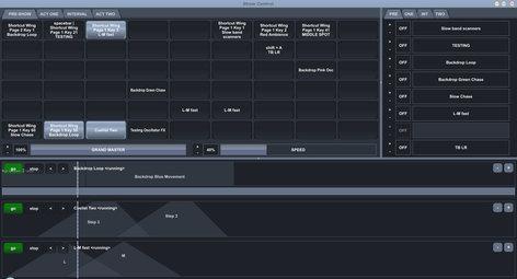 Enttec D-Pro 2U 2-Universe (1024 Channels) Lighting Control Software 70573