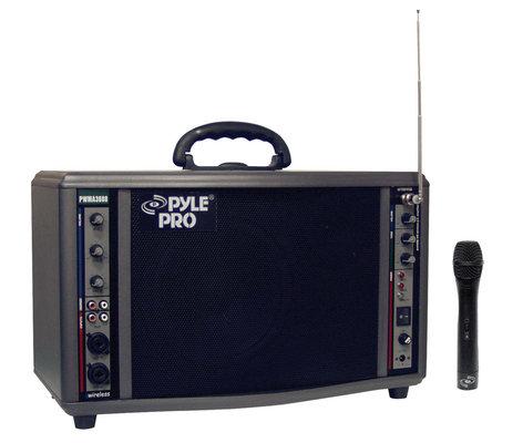 Pyle Pro PWMA3600  200W Portable Wireless PA System PWMA3600