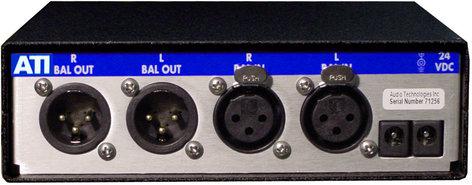 Audio Technologies Inc. L200  NANOAMP Dual Line/Buffer Amplifier without Power Supply L200
