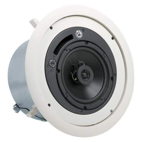 """Atlas Sound FAP62T-UL2043 6"""" Coaxial Speaker System with 70.7/100V-32W Transformer and 8 Ohms Bypass FAP62T-UL2043"""