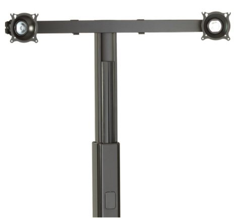 Chief Manufacturing KFA225B  Widescreen Dual Monitor Cart-Stand Accessory KFA225B