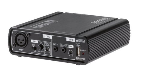 Inter-M Americas Inc DIB-6000 PC System Interface and Direct Box DIB-6000