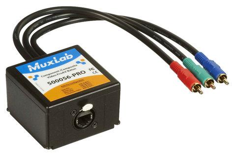 MuxLab 500056-PRO Component-Composite Video ProAV Balun MUX-500056-PRO