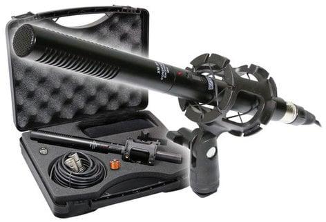 VidPro XM-55  Supercardioid Condenser Shotgun Microphone Kit XM-55