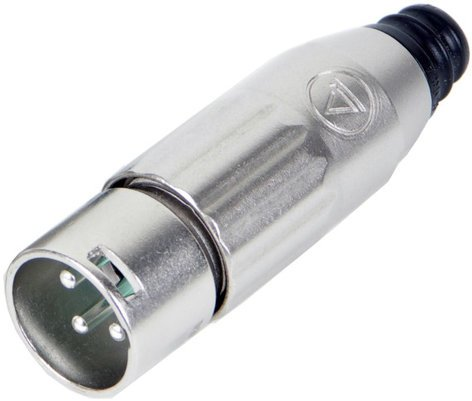 Switchcraft AAA5MBZ 5-Pin XLR-M Connector with Black Housing and Silver Pins AAA5MBZ