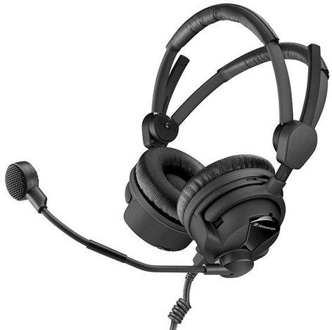 Sennheiser HMD 26-II-600-8 Hypercardioid Broadcast Headset with Unterminated Ends HMD26-II-600-8