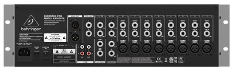 behringer rx1202fx 12 channel mic line rackmount analog mixer with effects full compass systems. Black Bedroom Furniture Sets. Home Design Ideas