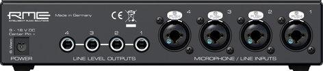 RME QuadMic II 4-Channel XLR Microphone Preamp QUAD-MIC-II