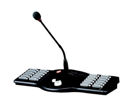 Inter-M Americas Inc RM-6024  Remote Microphone Paging Station RM-6024