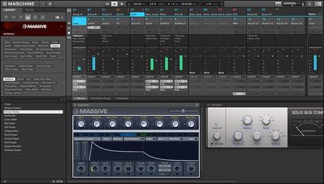 Native Instruments MASCHINE STUDIO Groove Production Studio with MASCHINE 2.0 Software MASCHINE-STUDIO
