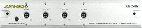 Aphex 120B 1x4 Servo-Balanced Audio/SMPTE Distribution Amplifier for Multi-Zone Applications 120B