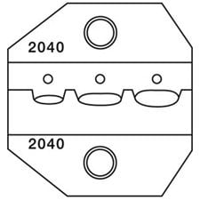 Paladin Tools PA2040  22-12 AWG CrimpALL® Interchangeable DieSets for Insulated Terminal Crimpers PA2040