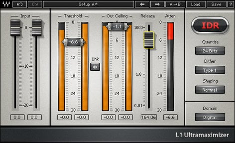 Waves L1 Ultramaximizer Peak Limiting/Maximizer Plugin V5-L1D40