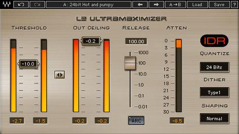 Waves L2 Ultramaximizer Peak Limiting/Maximizer Plugin V5-L2T4A