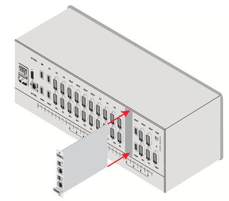 Kramer DGKAT-IN2-F16 2-Input HDMI & RS-232 over DGKat Card (F16) DGKAT-IN2-F16