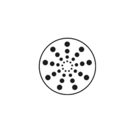 Martin Professional 43076079 Radial Circles Metal Gobo 43076079
