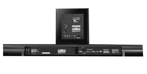 Harman Kardon SB30 Surround Sound Powered Home Theater Soundbar Speaker System SB30-HKN