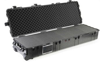 Pelican Cases PC1770NF  Long Case with No Foam in Black PC1770NF