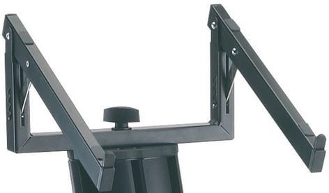 K&M Stands 18868 Black Laptop Rest for the Spider Pro and Baby Spider Pro Keyboard Stand 18868-BLACK