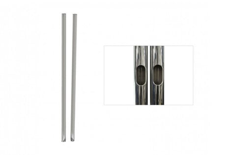 """Premier T60  1 Pair of 60"""" H Replacement Chrome Poles for PSD-TS60 T60"""