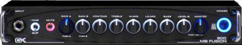 Gallien-Krueger MB-FUSION-800 2-Ch 800W Hybrid Bass Amplifier Head MB-FUSION-800