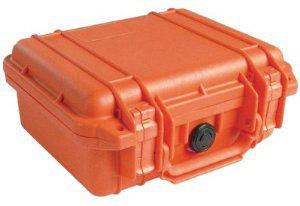 Pelican Cases 1200 Small Case in Orange PC1200-ORANGE