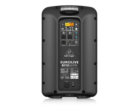 "Behringer EUROLIVE B112MP3 12"" Active 2-way PA Speaker with MP3 & Mixer B112MP3"