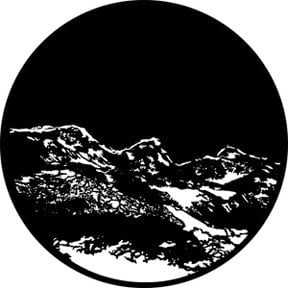 Rosco 76505 Mountain 3 Gobo 76505