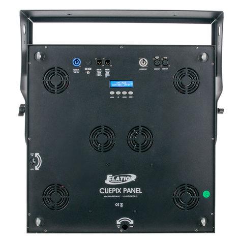 Elation Pro Lighting CUEPIX Panel 25x30 Watt COB Matrix Panel CUEPIX-PANEL