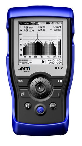 NTI XL2 + M2211 XL2 Package with the M2211 Mic 600-000-351