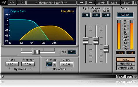Waves MaxxBass Bass Enhancement Plugin V5-MBD40