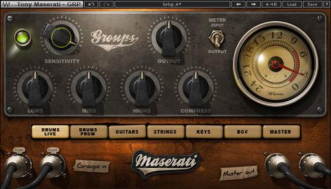 Waves Tony Maserati Signature Series Music Production Plugin Bundle TMSIGSG