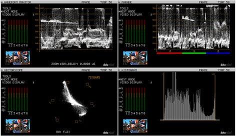 Datavideo Corporation VSM-100 Sampling Video Scope Monitor VSM100