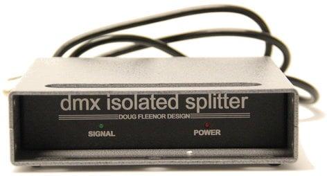 Doug Fleenor Designs 123 [RESTOCK ITEM] 1x3 DMX Isolation Amplifier And Splitter 123-RST-01