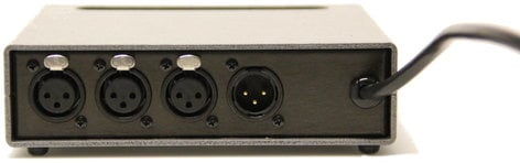 Doug Fleenor Designs 123 [RESTOCK ITEM] 1x3 DMX Isolation Amplifier And Splitter 123-RST-01