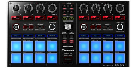 Pioneer DDJ-SP1  Sub-Controller with Effects for Serato Software DDJ-SP1