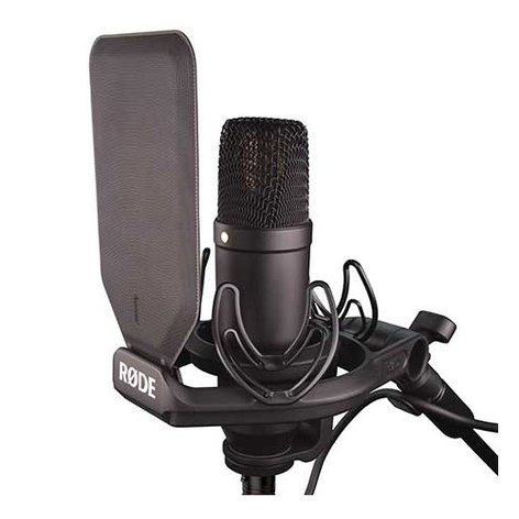 Rode NT1-KIT Large Diaphragm Cardioid Condenser Microphone with SMR Shockmount NT1-KIT