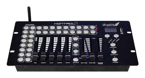Blizzard KONTROL5-SKYWIRE Kontrol 5 Skywire 10-Channel Wireless DMX Controller KONTROL5-SKYWIRE