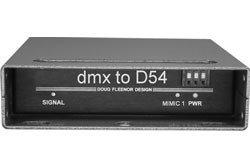 Doug Fleenor Designs DMX2D54 DMX to D54 Converter DMX2D54