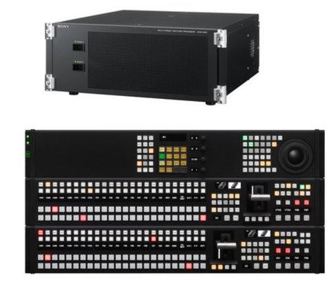Sony MVS3000APAC HD/SD Multi-format Production Switcher with Advanced New Control Panel MVS3000APAC