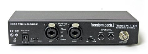 Hear Technologies Freedom Back Wireless Stereo In-Ear System FREEDOM-BACK-SYSTEM