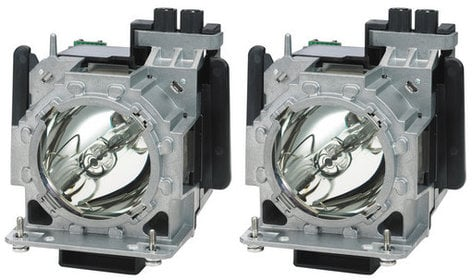 Panasonic ET-LAD310AW Twin Pack of Replacement Projector Lamps ETLAD310AW