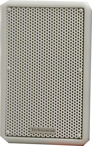 Technomad Paris 616 250W 2-Way Full-Range Speaker in White PARIS-616-WHITE