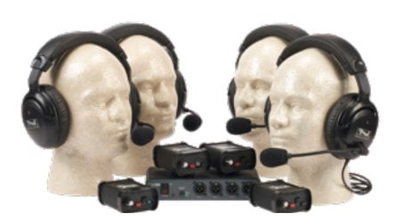 Anchor COM-40FC PortaCom 4-Person Intercom System Without Cables COM-40FC-ANCHOR